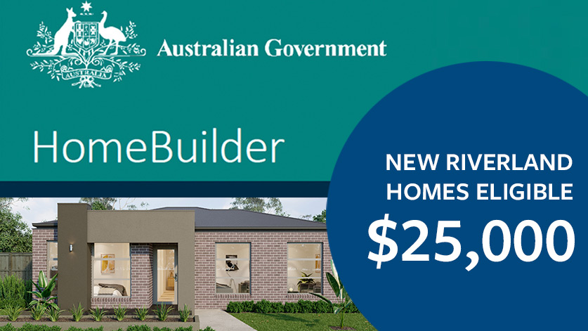HomeBuilder Stimulus Advertisement New Homes Eligible